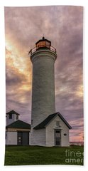 Sunset At Tibbet's Point Beach Towel