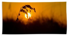 Sunset Beach Beach Towel by Kevin Cable