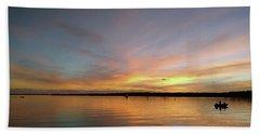Sunset Blaze Beach Towel