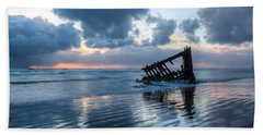 Sunset Blues 0094 Beach Towel