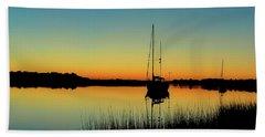 Sunset Bowens Island Beach Sheet