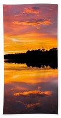 Sunset Colors Beach Sheet