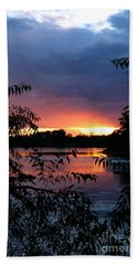 Sunset Cove Beach Towel