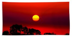 Sunset Dreaming Beach Towel