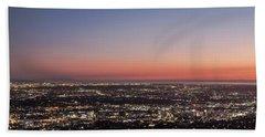 Sunset Dreaming Beach Sheet