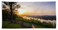 Sunset From Boreman Park Beach Towel