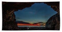 Sunset From Brady's Cave Beach Sheet