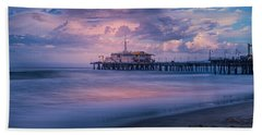Sunset Glow Beach Towel
