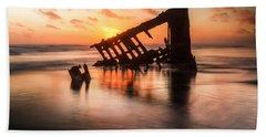 Sunset Glow 0016 Beach Towel