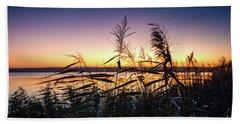 Sunset Impression  Beach Towel
