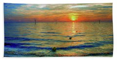 Sunset Impressions Beach Towel