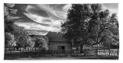 Sunset In Grafton Ghost Town Beach Towel