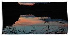 Sunset In September Beach Towel