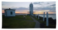 Sunset In Tacoma Beach Towel
