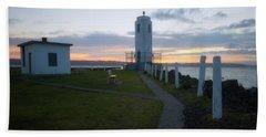 Sunset In Tacoma Beach Sheet