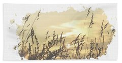 Sunset. Beach Towel