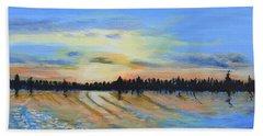 Sunset-ivanhoe1 Beach Towel