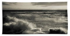 Beach Towel featuring the photograph Sunset - La Jolla Cove by Samuel M Purvis III