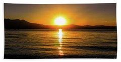 Sunset Lake 1 Beach Sheet