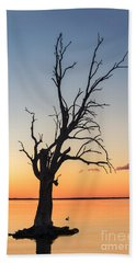 Beach Towel featuring the photograph Sunset Lake by Ray Warren