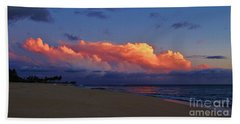 Beach Sheet featuring the photograph Sunset Looking West by Craig Wood