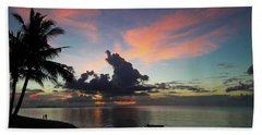 Sunset Lovers Beach Towel
