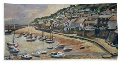 Sunset Mousehole Beach Towel