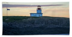 Sunset Nova Scotia  Beach Towel