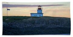 Sunset Nova Scotia  Beach Sheet by Trace Kittrell