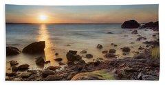 Sunset On Boulder Beach Beach Sheet