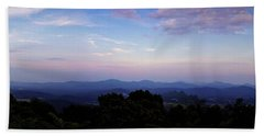 Sunset On The Blue Ridge Beach Towel