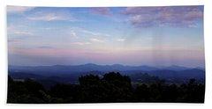 Sunset On The Blue Ridge Beach Sheet