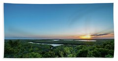 Sunset On The Outer Banks Beach Towel