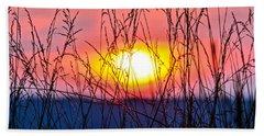 Sunset On The Prairie  Beach Towel