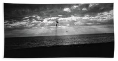 Sunset Ostia Beach Beach Sheet