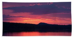 Sunset Over Sabao Beach Towel