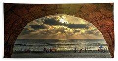 Sunset Over The Mediterranean 3 Beach Towel