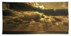 Sunset Over The Mediterranean 5 Beach Towel