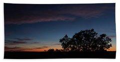 Sunset Over The Utah Desert Beach Sheet