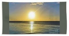Sunset Paradise Beach Towel