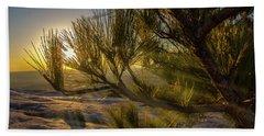 Sunset Pines Beach Towel