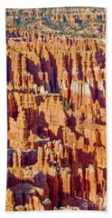 Sunset Point Bryce Canyon Beach Towel