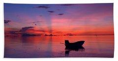 Sunset Rays Beach Towel