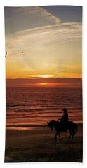 Sunset Ride Beach Towel