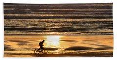 Sunset Rider Beach Towel