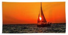 Sunset Sail Beach Sheet