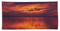 Sunset Sequim Beach Towel