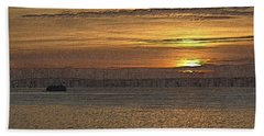 Sunset Serenade Beach Towel