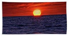 Sunset Siesta Key Florida Beach Sheet
