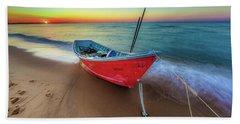 Sunset Skiff Beach Sheet